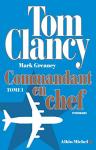 """Couverture du livre : """"Commandant en chef 1"""""""