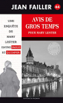 """Couverture du livre : """"Avis de gros temps pour Mary Lester"""""""