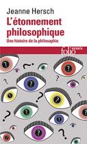 """Couverture du livre : """"L'étonnement philosophique"""""""