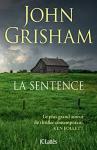 """Couverture du livre : """"La sentence"""""""