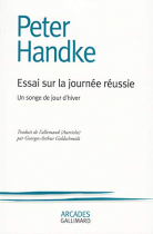 """Couverture du livre : """"Essai sur la journée réussie"""""""