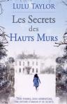 """Couverture du livre : """"Les secrets des hauts murs"""""""