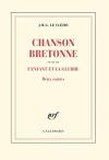 """Couverture du livre : """"Chanson bretonne"""""""