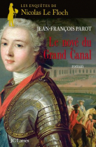 """Couverture du livre : """"Le noyé du grand canal"""""""