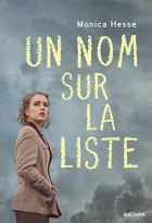 """Couverture du livre : """"Un nom sur la liste"""""""