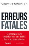 """Couverture du livre : """"Erreurs fatales"""""""
