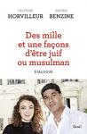 """Couverture du livre : """"Des mille et une facons d'être juif ou musulman"""""""