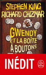 """Couverture du livre : """"Gwendy et la boîte à boutons"""""""