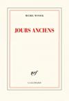 """Couverture du livre : """"Jours anciens"""""""