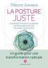 """Couverture du livre : """"La posture juste"""""""