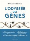 """Couverture du livre : """"L'odyssée des gènes"""""""