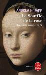 """Couverture du livre : """"Le souffle de la rose"""""""