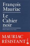 """Couverture du livre : """"Le cahier noir"""""""