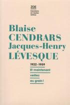 """Couverture du livre : """"Correspondance 1922-1959"""""""