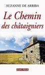 """Couverture du livre : """"Le chemin des châtaigniers"""""""