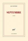 """Couverture du livre : """"Septembre"""""""