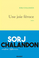 """Couverture du livre : """"Une joie féroce"""""""