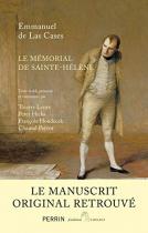 """Couverture du livre : """"Le mémorial de Sainte-Hélène"""""""