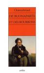 """Couverture du livre : """"De Buonaparte, des Bourbons, et de la nécessité de se rallier à nos princes légitimes pour le bonheur de la France et celui de l'Europe"""""""