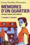 """Couverture du livre : """"Evangéline et Bernadette"""""""