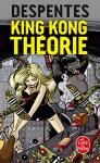 """Couverture du livre : """"King Kong théorie"""""""