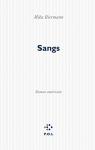 """Couverture du livre : """"Sangs"""""""