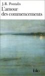 """Couverture du livre : """"L'amour des commencements"""""""