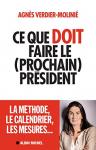 """Couverture du livre : """"Ce que doit faire le (prochain) président"""""""