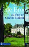 """Couverture du livre : """"Les étés de Grande-Maison"""""""