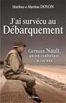 """Couverture du livre : """"J'ai survécu au débarquement"""""""