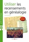 """Couverture du livre : """"Utiliser les recensements en généalogie"""""""