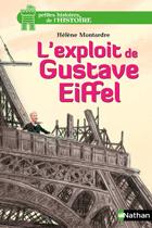 """Couverture du livre : """"L'exploit de Gustave Eiffel"""""""