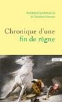 """Couverture du livre : """"Chronique d'une fin de règne"""""""