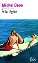"""Couverture du livre : """"À la légère"""""""