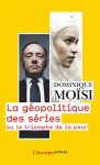 """Couverture du livre : """"La géopolitique des séries"""""""