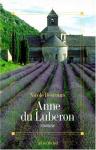 """Couverture du livre : """"Anne du Luberon"""""""