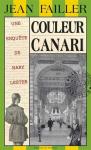 """Couverture du livre : """"Couleur canari"""""""