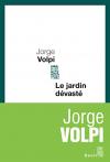 """Couverture du livre : """"Le jardin dévasté"""""""