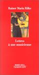 """Couverture du livre : """"Lettres à une musicienne"""""""