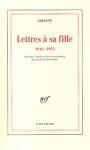 """Couverture du livre : """"Lettres à sa fille"""""""