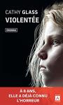 """Couverture du livre : """"Violentée"""""""