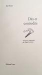 """Couverture du livre : """"Dits et contredits"""""""