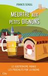 """Couverture du livre : """"Meurtre aux petits oignons"""""""